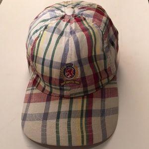 Vintage Plaid Tommy Hilfiger Cap / Hat